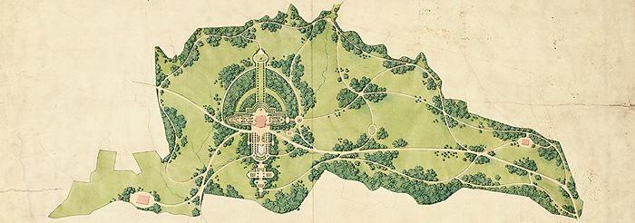Bayerische Schlosserverwaltung Schlossanlage Linderhof Park Entwicklung