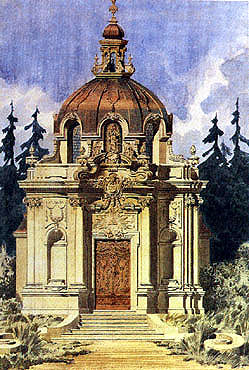 Picture: New baroque chapel project